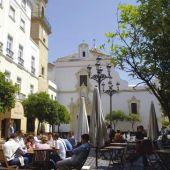 Plaza de San Francisco, en el centro de Cádiz