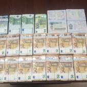La Guardia Civil interviene 95.000 euros a dos ciudadanos de origen libio en un control