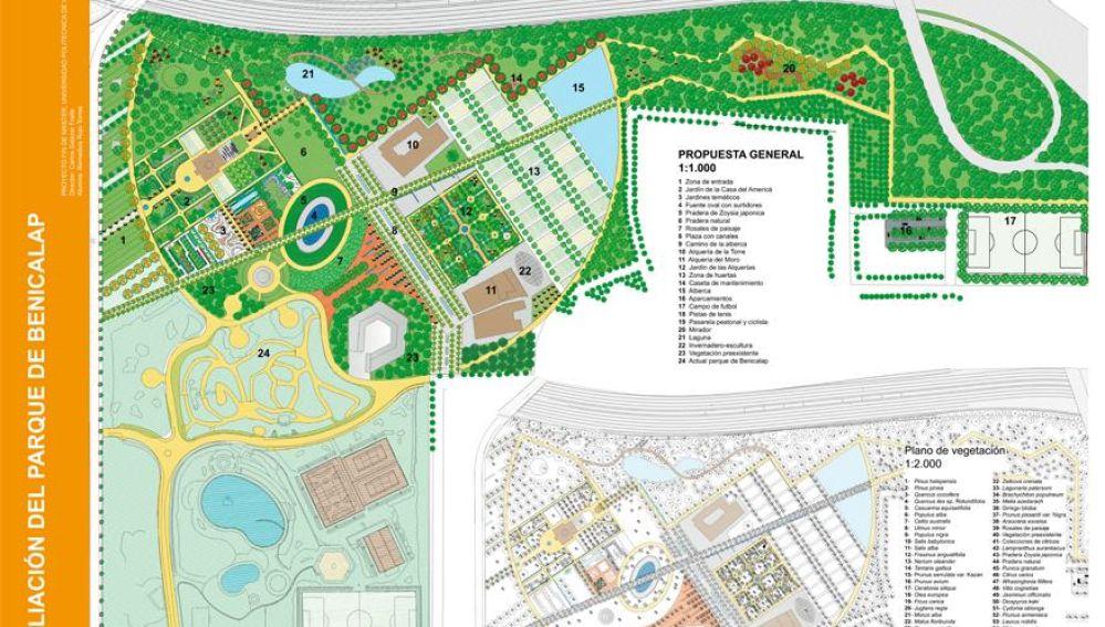 El TSJ desbloquea el proyecto de ampliación del Parque de Benicalap