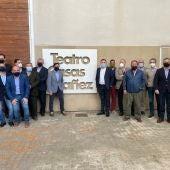 Comité Ejecutivo de FEDA en Casas Ibañez