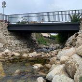 Reparado el puente sobre el arroyo Garganta de la Buitrera, en Gargantilla
