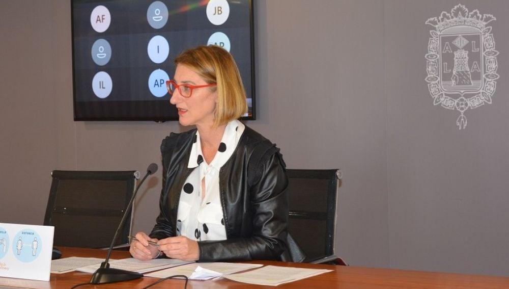 Mari Carmen de España, concejala de Empleo y Desarrollo
