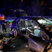 Detenido el conductor del accidente de Salceda en el que murieron una mujer y sus dos hijos