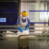 """El número de hospitalizados crece hasta los 23 en el """"Virgen de la Luz"""""""