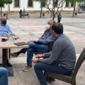 Un momento de la reunión en Cangas de Onís
