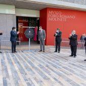 El Rey inaugura Museo Foro Romano Molinete