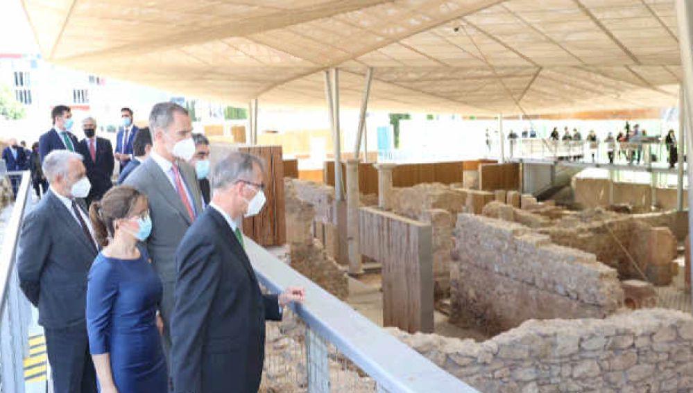 El Rey Felipe VI ha inaugurado el nuevo Museo Foro Romano Molinete de Cartagena