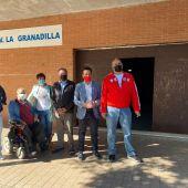 El PSOE de Badajoz pide un mayor mantenimiento de la barriada de La Granadilla