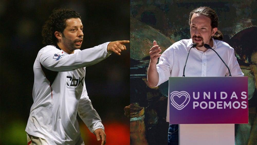 Iván Campo y Pablo Iglesias