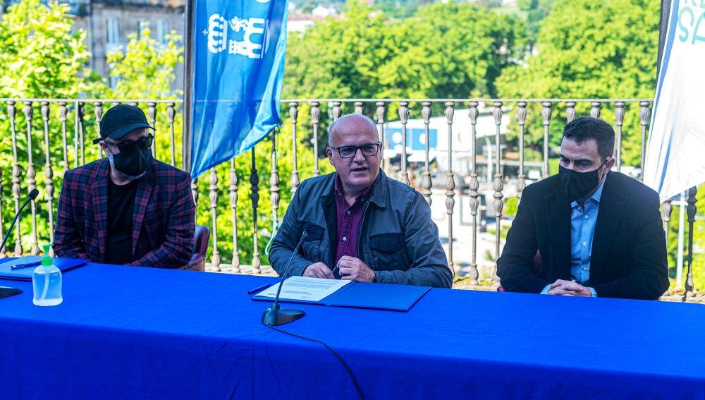Convenio de colaboración para a rodaxe en Ourense do filme Malencolía