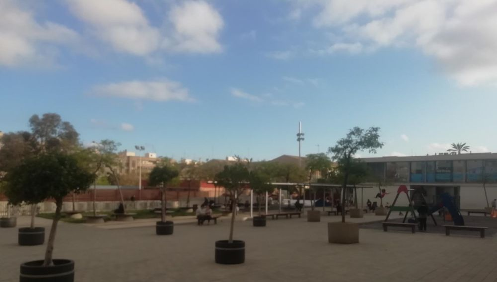 Plaza en Elche.