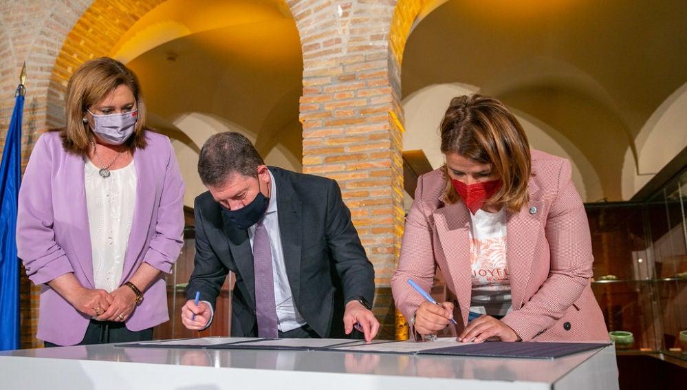 García-Page avanza inversiones para Talavera