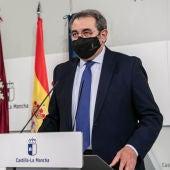 Jesús Fernández Sanz en rueda de prensa