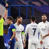 Ramos y Hazard decepcionaron ante el Chelsea