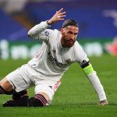 Sergio Ramos en Stamford Bridge