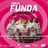 La afición vuelve al Carlos Belmonte con las chicas del Fundación Albacete.