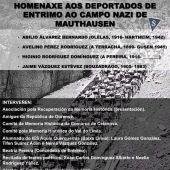 Homenaxe a 4 ourensáns deportados a Mauthausen