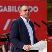 José Manuel Franco, en un acto electoral del PSOE.