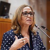 La consejera de Presidencia, Mayte Pérez.
