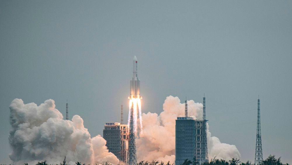 El módulo clave enviado por China para su estación espacial.