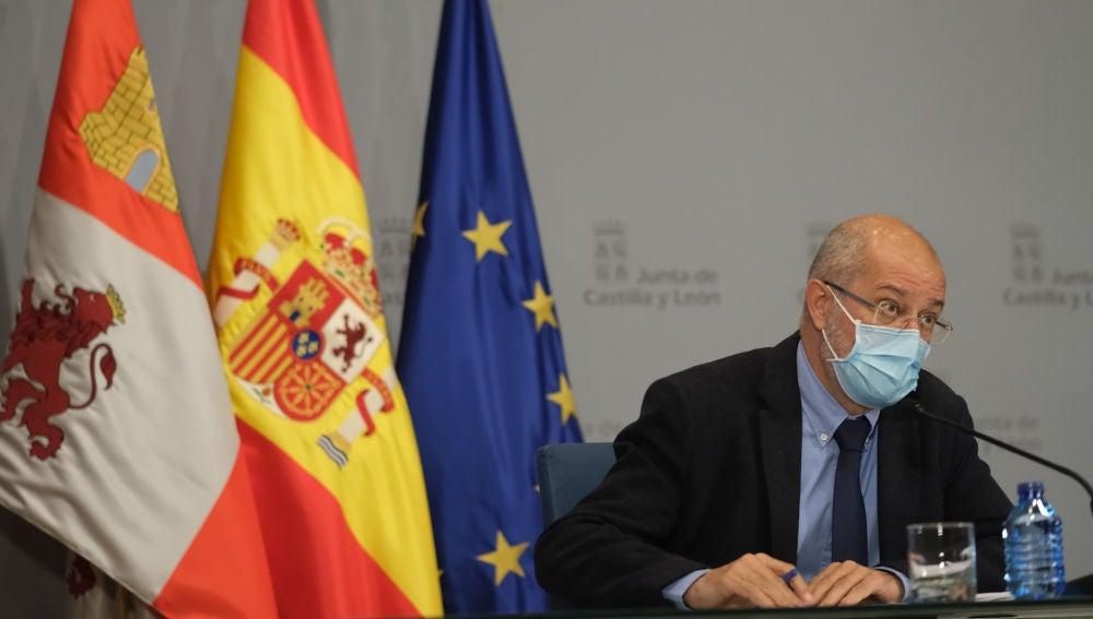 Francisco Igea, vicepresidente de la Junta de Castilla y León