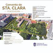 Recinto do Convento de Santa Clara en Pontevedra