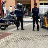 Agentes de la Policía Nacional de Elche.