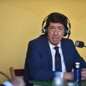 Juan Marín, vicepresidente de la Junta de Andalucía y portavoz de Ciudadanos en Andalucía.