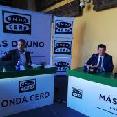 Vicepresidetne de la Junta de Andalucía, Juan Marín  con Carlos Alsina