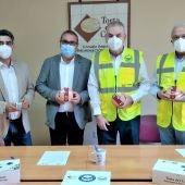 La DOP Torta del Casar renueva su compromiso solidario con el Banco de Alimentos de Cáceres
