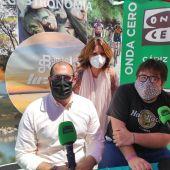 Elena Amaya, Carlos Salguero y Jaime Álvarez