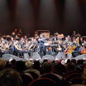 Antonio Banderas con la Sinfónica del Soho Pop
