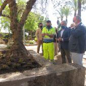 Los jardines de La Galera de Badajoz abrirán al público en torno al mes junio