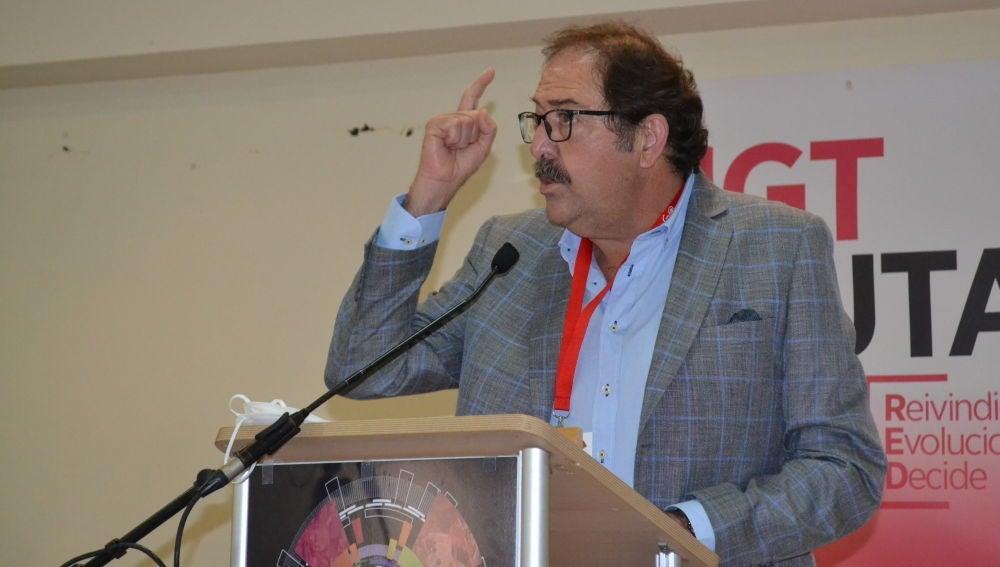 Juan Carlos Pérez Ortega reelegido secretario general de la UGT de Ceuta