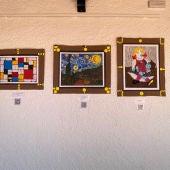 El CEIP Ntra. Sra. de Peñarroya realiza su primera 'Exposición de arte'