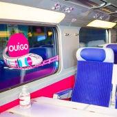 Interior de los trenes de Ouigo