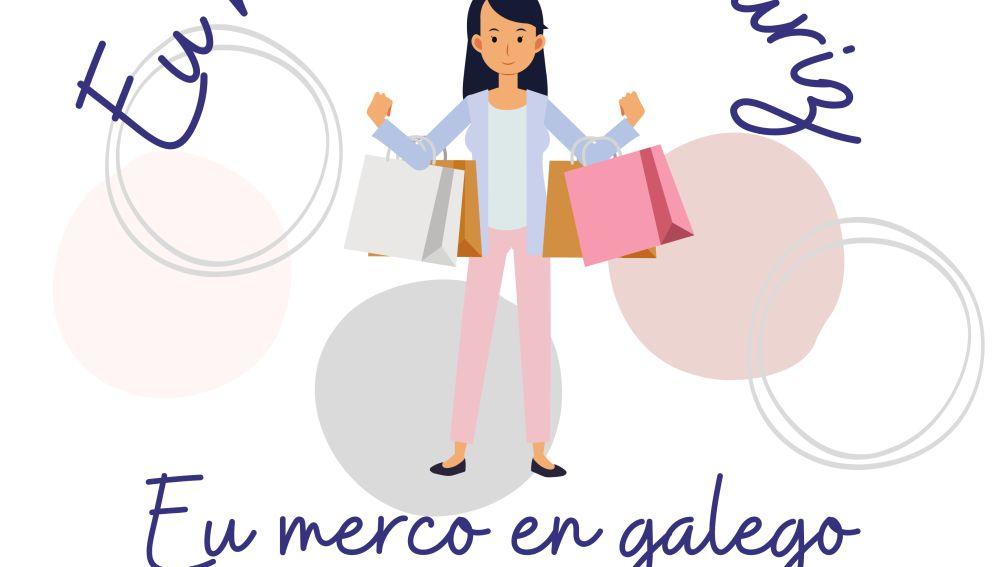 Allariz pon en marcha unha campaña de apoio ao comercio local e ao uso do galego