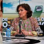 Carmen Calvo y Arturito