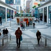 Vista general del centro comercial Glories de Barcelona.