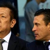Peter Lim y Amadeo Salvo