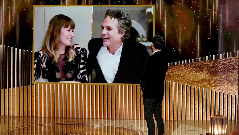 El actor Mark Ruffalo agracede su Globo de Oro 2021 por 'La innegable verdad', de HBO