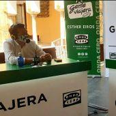 José María Bellido, alcalde de Córdoba, con Esther Eiros en Gente Viajera