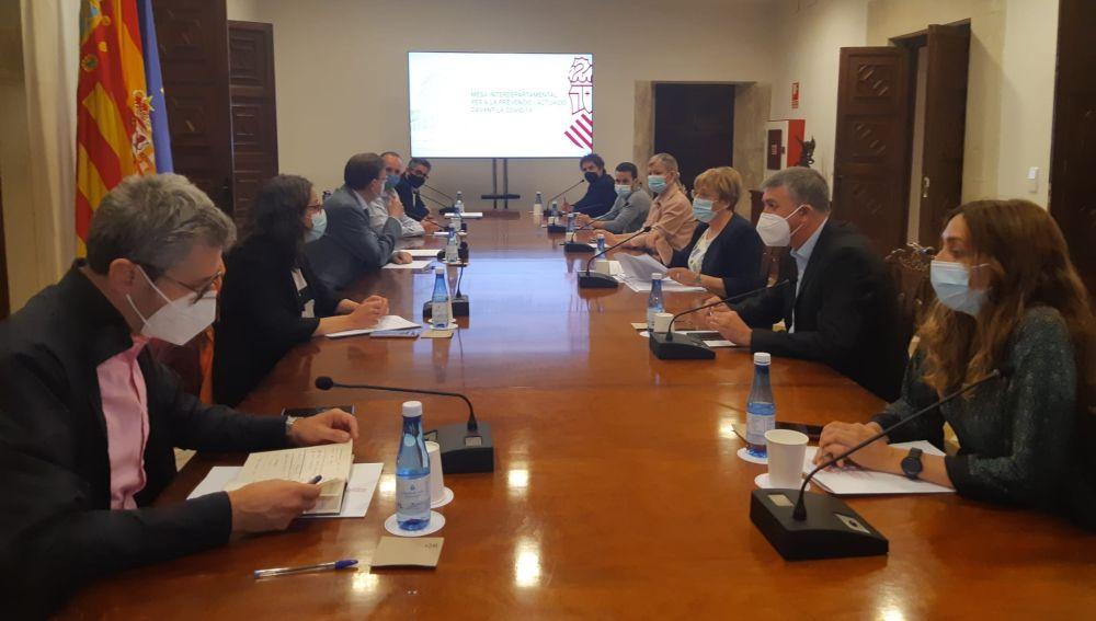 Reunión este sábado de la Mesa Interdepartamental