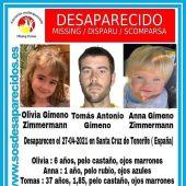 """La madre de las niñas desaparecidas en Tenerife pide al padre que """"desista"""" y """"no les haga sufrir"""""""