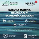 Universidad, Ayuntamiento y Asociación Chelonia organizan una conferencia sobre basuras marinas, reciclaje y economía circular