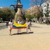 Solidaridad con Colombia en Ibiza