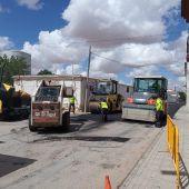 Comienzan los trabajos de asfaltado en distintas calles de Socuéllamos