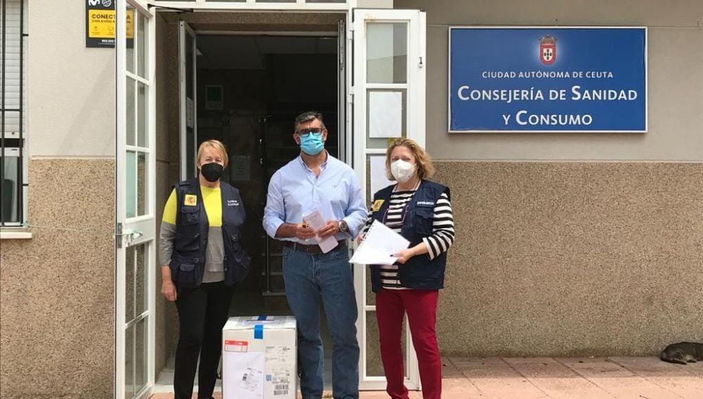 Continúa la llegada de vacunas contra el COVID-19