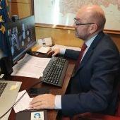 El vicepresidente Cofiño espera reducir al 6% la temporalidad mediante las ofertas de empleo pendientes.