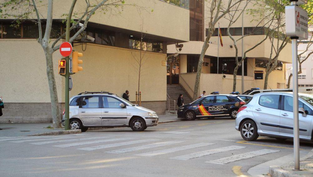 Jefatura de la Policía Nacional en Palma.